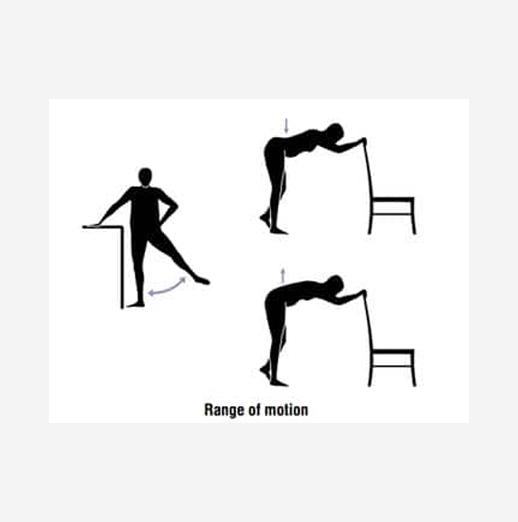 improve range motion -