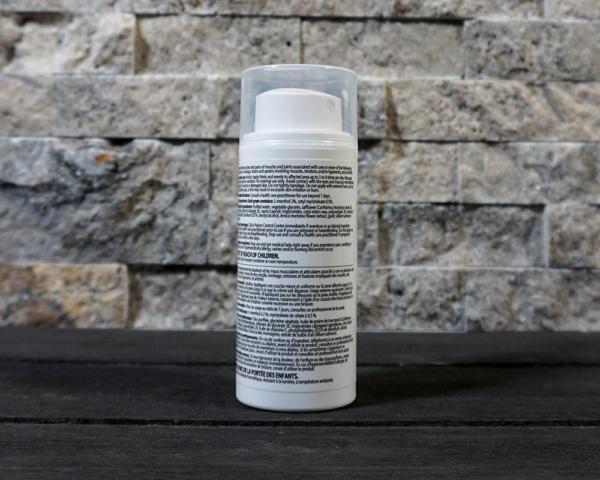 myonatural pain cream 3oz pump back -