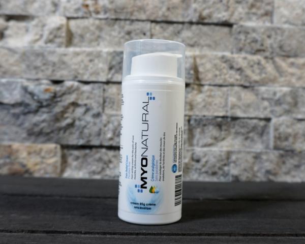 myonatural pain cream 3oz pump capped -