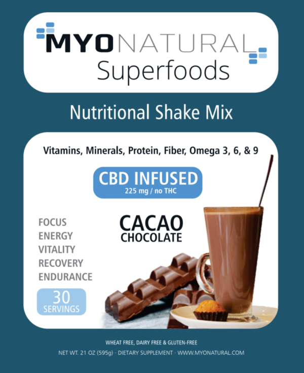 superfoods label front -